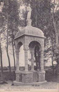 France Pontchateau Fontaine du Pere de Montfort