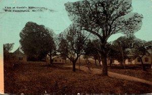 Maine West Farmington View At Gould's Mills 1915