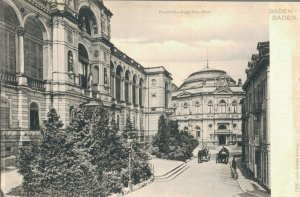 Germany Baden-Baden Hotel Messmer Trinkhalle and more Postcard Lot of 9 01.17