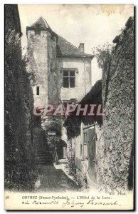 Old Postcard Orthez The Hotel Moon