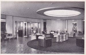 MONTREAL, Quebec, Canada, 1900-1910's; The Foyer To The Ninth Floor Restauran...