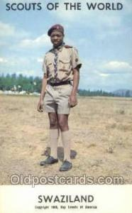 Swaziland Boy Scouts of America, Scouting Postcard, Post Cards, Copyright 196...
