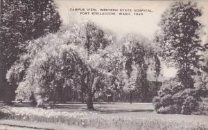 Washington Fort Steilacoom Campus View Western State Hospital Artvue