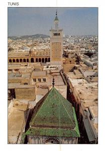 Tunisia Tunis le mauselee de H. Pacha et la Mosquee Zitouna