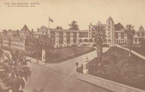 SANTA BARBARA , California , 1910s ; The Arlington Hotel