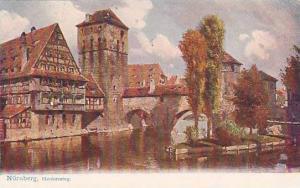 Henkersteg, Nurnberg (Bavaria), Germany, 1900-1910s