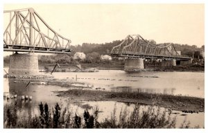 Flood  Disasters Bridge Split in Middle