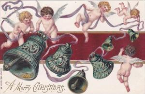 Christmas Angels Ringing Bells