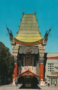 California Hollywood Graumans Chinese Theatre