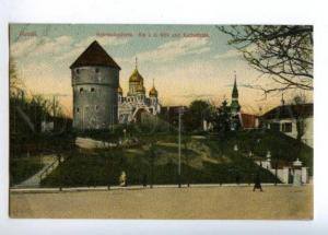 169764 Estonia REVAL Gate Russian Church Cathedral Vintage PC