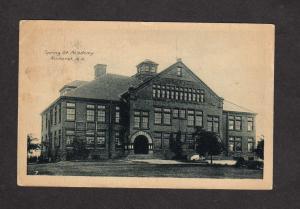 NS Spring St Street Academy Amherst Nova Scotia Carte Postale Canada Postcard