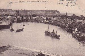 DIEPPE, Seine Maritime, France ,1900-1910s; Vue Generale De L'Avant Port