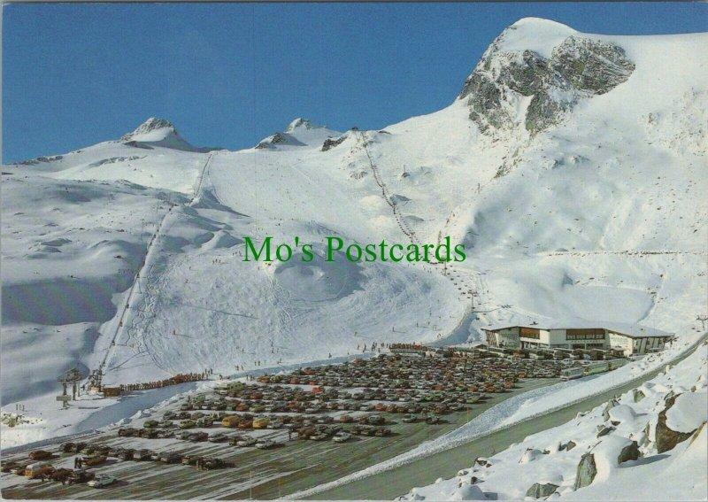 Austria Postcard - Talstation Und Skigebiet Tiefenbachferner, Solden RRR1199
