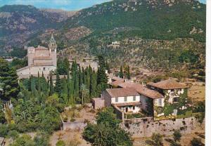 Spain The Carthusian Nunnery Valldemosa Mallorca