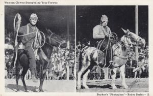 Rodeo Clowns , 40-50s