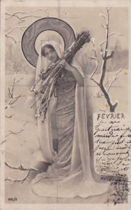 Month Of The Year February Glamorous Lady 1903