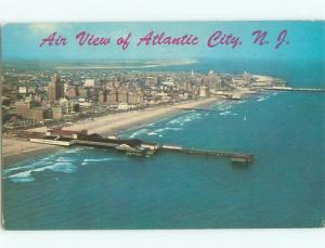 Pre-1980 AERIAL VIEW OF TOWN Atlantic City New Jersey NJ n3343