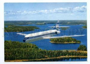 133301 ADVERTISING Finnair Super CARAVELLE old photo postcard
