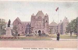 Parliament Bldgs , Queen's Park , Toronto , Ontario , Canada , 00-10s
