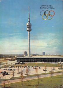 Munchen Olympia Turm -