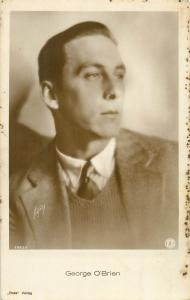 Actor George O`Brien Ross Verlag Postcard