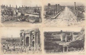 Timgad Cardo Maximus Sud Porto De Trajan Ruines Algeria 4 Postcard s