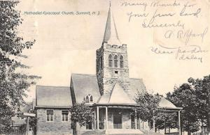 Summit New Jersey Methodist Episcopal Church Antique Postcard K39868