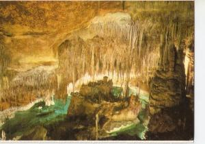 Postal 038836 : Cuevas del Drach. Porto Cristo - Mallorca. Castillo en Ruinas