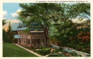 VT - Brattleboro. Naulhaka, Former Home of Rudyard Kipling