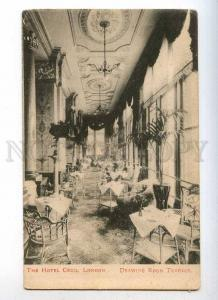 233194 UK LONDON Hotel Cecil ADVERTISING Drawing Room Terrace