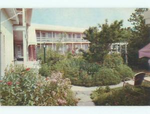 Pre-1980 DINNER BELL INN MOTEL Rehoboth Beach Delaware DE W6409