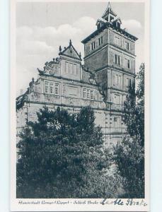 old rppc LARGE BUILDING Lemgo - Lippe - North Rhine-Westphalia Germany HM1418