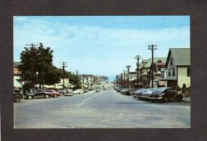 ME Beano Hall St Margaret's Church Old Orchard Beach Maine Postcard Amusement Pk