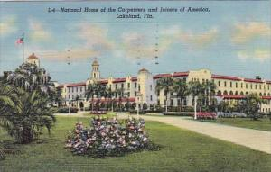 Florida Lakeland National Home Of The Carpenters And Joiners Of America 1951