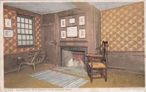 Massachusetts Boston Paul Revere House Ell Chamber Detroit Publishing