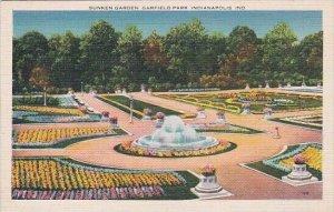 Sunken Garden Garfield Park Indianapolis Indiana