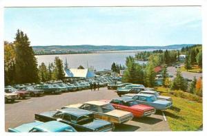 Vue generale de l'Ermitage, Lac Bouchette, Co. Roberval, Province of Quebec, ...