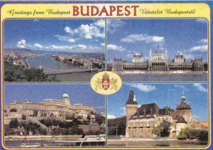 Hungary Budapest Panorama Multi View