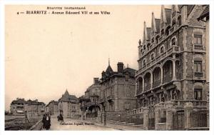 Biarritz   Avenue Edoard VII et ses Villas
