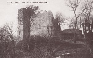 Lewes , Sussex , England , 00-10s ; The Castle from Barbican