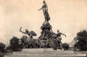 France Paris Le Triomphe de la Republique