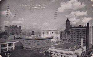 Minnesota Minneapolis A Bunch Of Sky Scrapers 1909