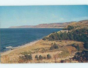 Pre-1980 SHORELINE SCENE Cape Breton - Near Sydney Nova Scotia NS AD5612