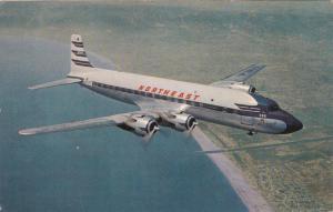 NORTHEAST Airlines Sunliner Prop Airplane 1940-50s