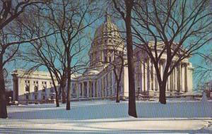 Wisconsin Madison Winter In Capitoland