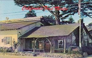 First Theatre In California Monterey California