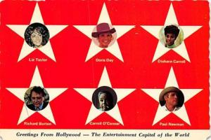 Greetings from Hollywood Movie Poster Postcard