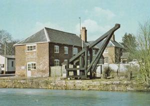 Kennett & Avon Canal Burbage Wharf Boat Postcard
