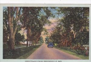 Indiana Greetings From Brookville 1948