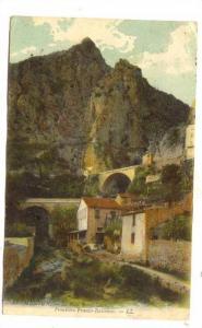 Le Pont Saint-Louis, Frontiere Franco-Italienne, Menton (Alpes Maritimes), Fr...